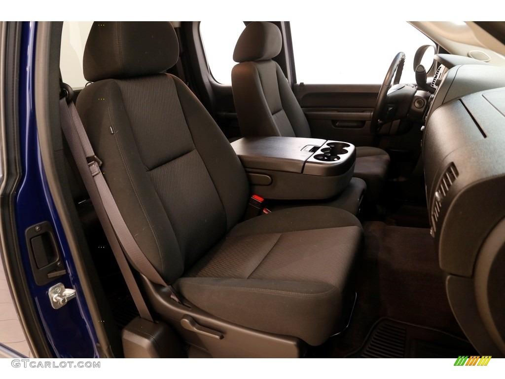 2013 Silverado 1500 LT Extended Cab 4x4 - Blue Topaz Metallic / Ebony photo #11