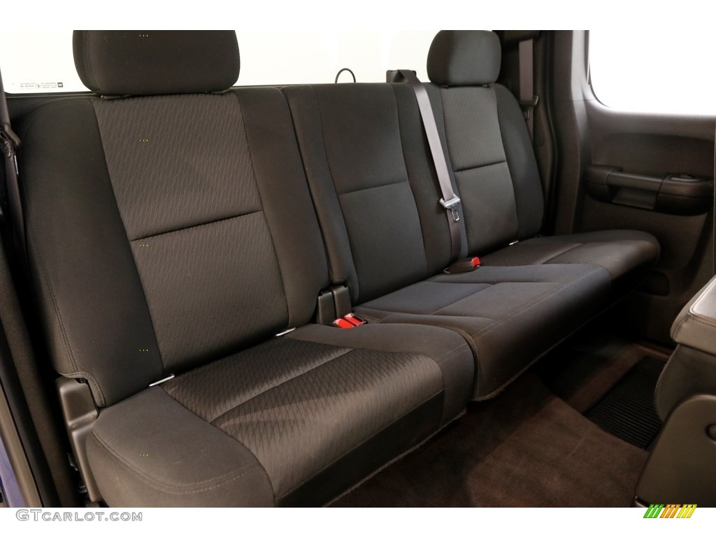 2013 Silverado 1500 LT Extended Cab 4x4 - Blue Topaz Metallic / Ebony photo #12