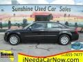 2008 Brilliant Black Crystal Pearl Chrysler 300 LX #123422167