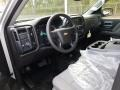 2018 Silver Ice Metallic Chevrolet Silverado 1500 Custom Double Cab 4x4  photo #7