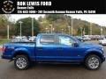 Lightning Blue 2017 Ford F150 Gallery