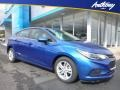 Kinetic Blue Metallic - Cruze LT Hatchback Photo No. 1