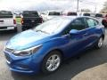 Kinetic Blue Metallic - Cruze LT Hatchback Photo No. 8