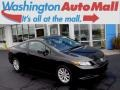 Crystal Black Pearl 2012 Honda Civic EX Coupe