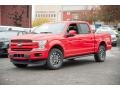 Race Red - F150 Lariat SuperCrew 4x4 Photo No. 1