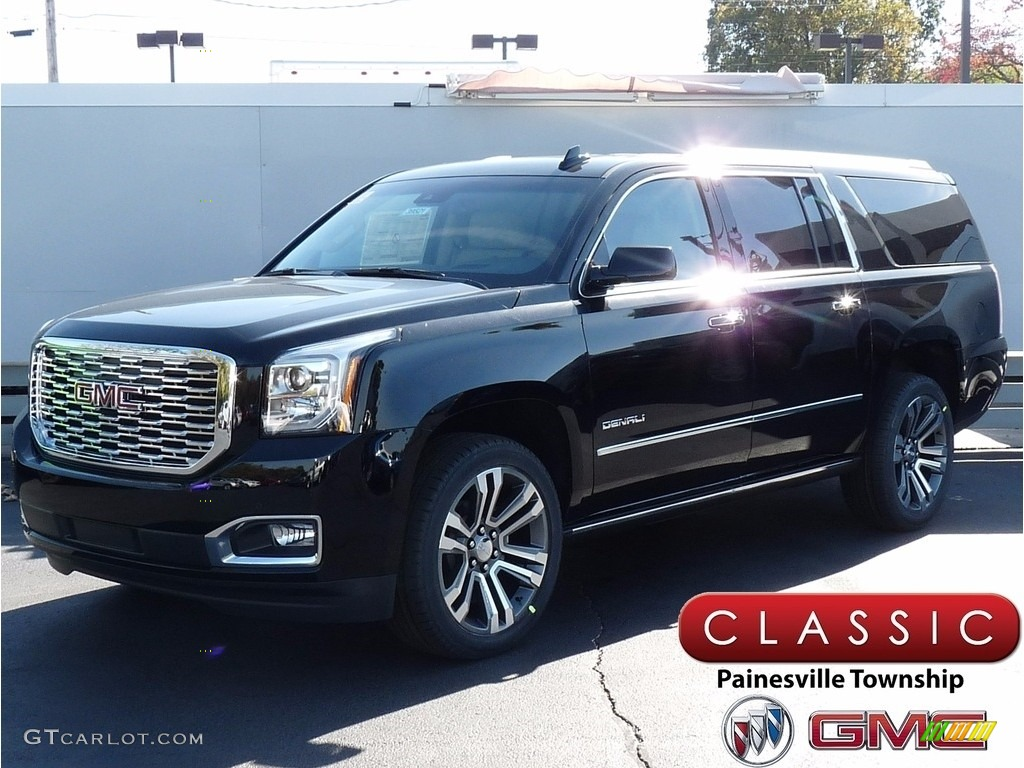 2018 Onyx Black Gmc Yukon Xl Denali 4wd 123536479 Gtcarlot Com Car Color Galleries