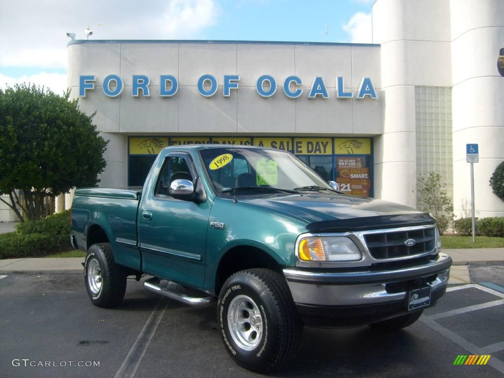 Woodland green metallic ford f150