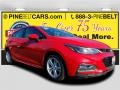 Red Hot 2018 Chevrolet Cruze LT Hatchback