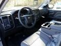2018 Silver Ice Metallic Chevrolet Silverado 1500 Custom Crew Cab  photo #8