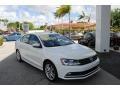 2017 Pure White Volkswagen Jetta SEL #123536012