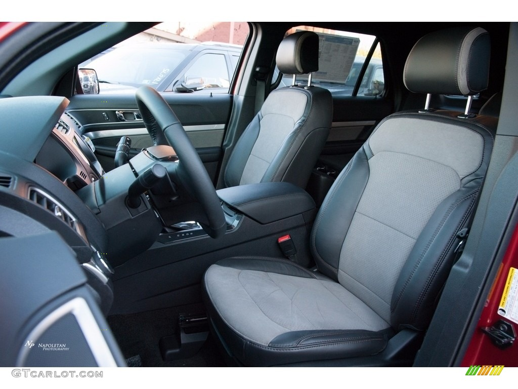 2017 Ford Explorer XLT 4WD Front Seat Photo #123556975