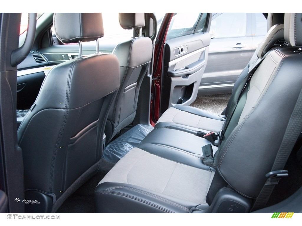 Sport Appearance Dark Earth Gray Interior 2017 Ford Explorer XLT 4WD Photo #123557068