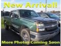 2004 Dark Green Metallic Chevrolet Silverado 1500 LS Extended Cab 4x4  photo #1