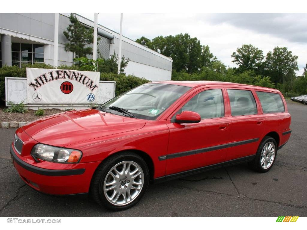 2001 V70 T5 - Venetian Red / Taupe photo #1