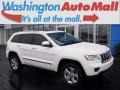 Stone White 2011 Jeep Grand Cherokee Limited 4x4