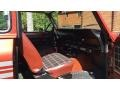 Front Seat of 1979 Scout II