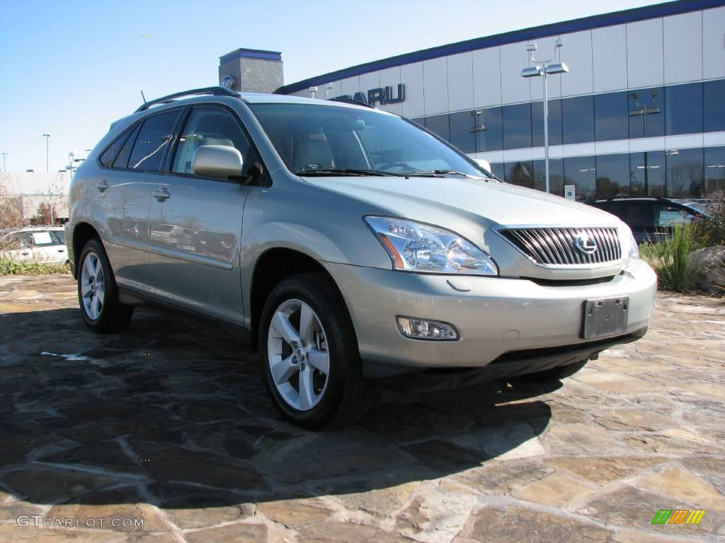 2007 Bamboo Green Pearl Lexus Rx 350 1235047 Car Color Galleries