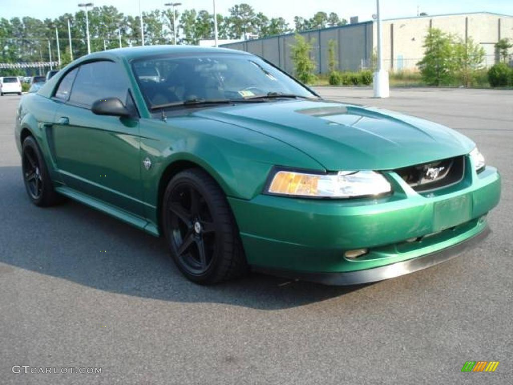 1999 Electric Green Metallic Ford Mustang Gt Coupe 12340680 Photo 9