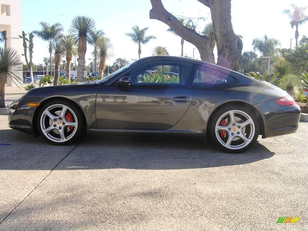 2006 slate grey metallic porsche 911 carrera s coupe. Black Bedroom Furniture Sets. Home Design Ideas