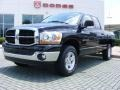 2006 Brilliant Black Crystal Pearl Dodge Ram 1500 SLT Quad Cab 4x4  photo #1