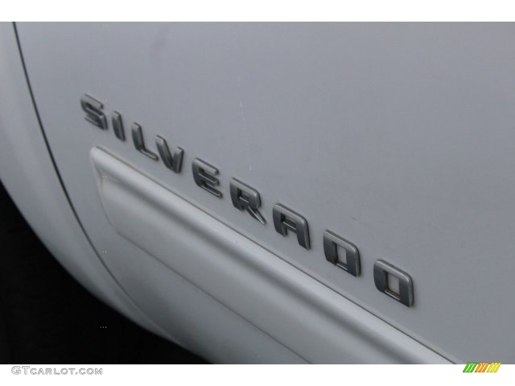 2012 Silverado 1500 LS Crew Cab - Summit White / Dark Titanium photo #7