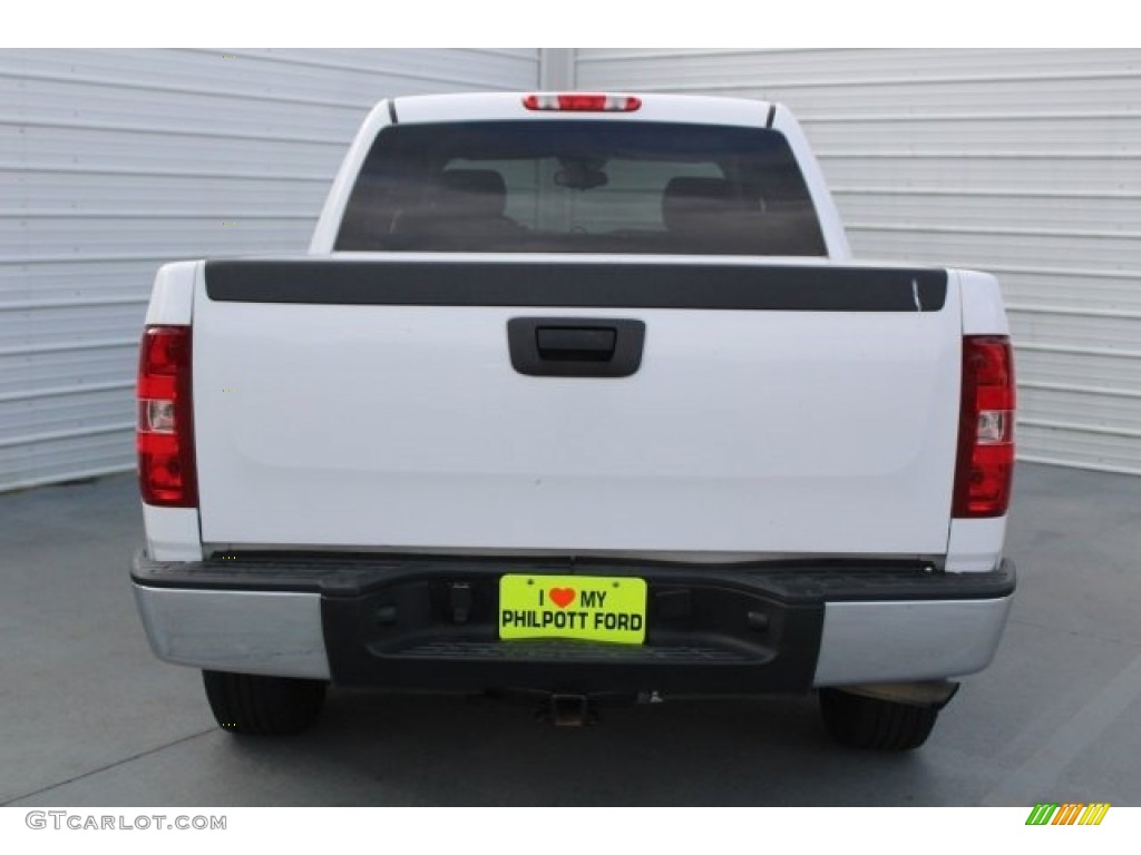 2012 Silverado 1500 LS Crew Cab - Summit White / Dark Titanium photo #10