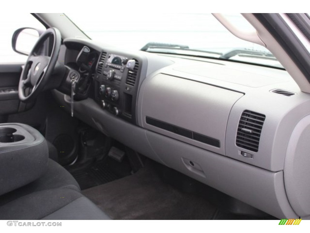 2012 Silverado 1500 LS Crew Cab - Summit White / Dark Titanium photo #30