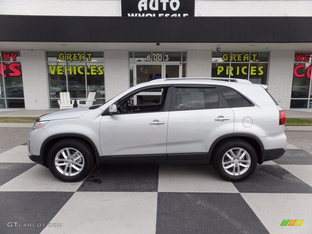 2014 Sorento LX - Bright Silver / Black photo #1