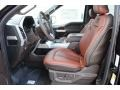 Front Seat of 2018 F150 King Ranch SuperCrew 4x4