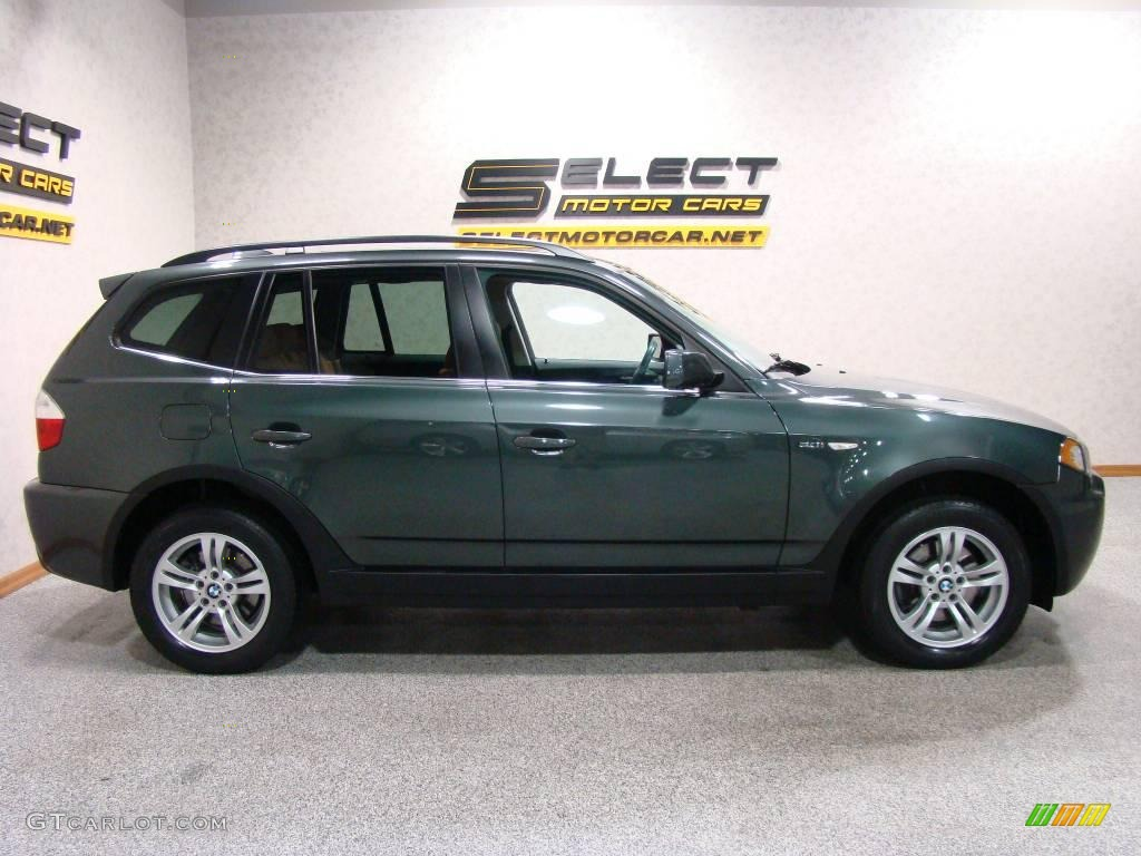 2006 highland green metallic bmw x3 12344485 photo 4 car color galleries. Black Bedroom Furniture Sets. Home Design Ideas