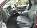 2018 1500 Laramie Quad Cab 4x4 Black Interior