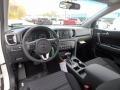 2018 Sportage LX AWD Black Interior