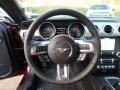 2018 Ford Mustang Tan Interior Steering Wheel Photo