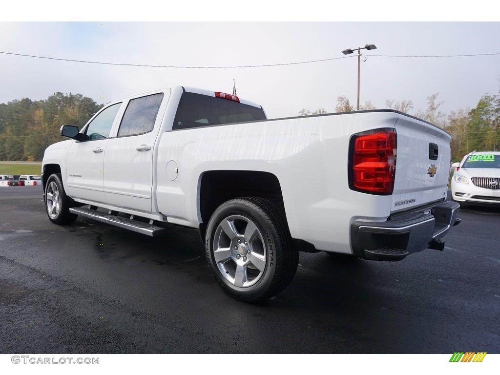 2018 Silverado 1500 LT Crew Cab - Summit White / Jet Black photo #5
