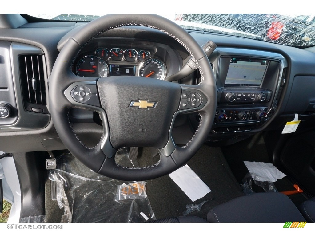 2018 Silverado 1500 LT Crew Cab - Summit White / Jet Black photo #14