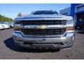 2018 Silver Ice Metallic Chevrolet Silverado 1500 LT Crew Cab  photo #2