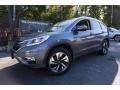 2015 Modern Steel Metallic Honda CR-V Touring  photo #1
