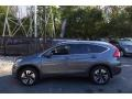 2015 Modern Steel Metallic Honda CR-V Touring  photo #3