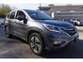 2015 Modern Steel Metallic Honda CR-V Touring  photo #9