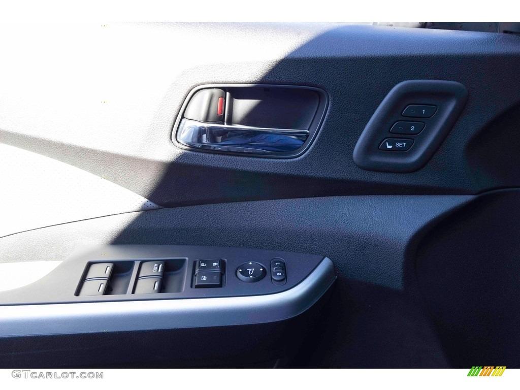 2015 CR-V Touring - Modern Steel Metallic / Gray photo #12