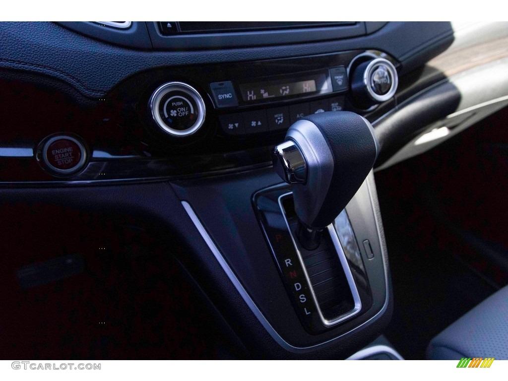 2015 CR-V Touring - Modern Steel Metallic / Gray photo #26