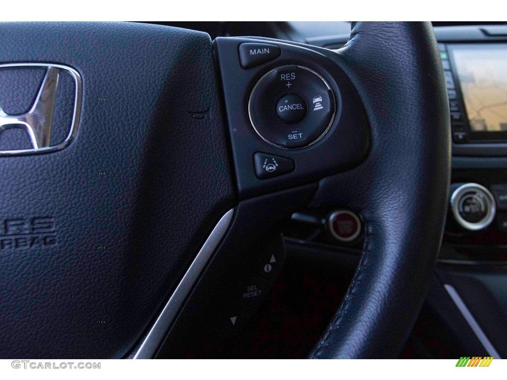 2015 CR-V Touring - Modern Steel Metallic / Gray photo #31