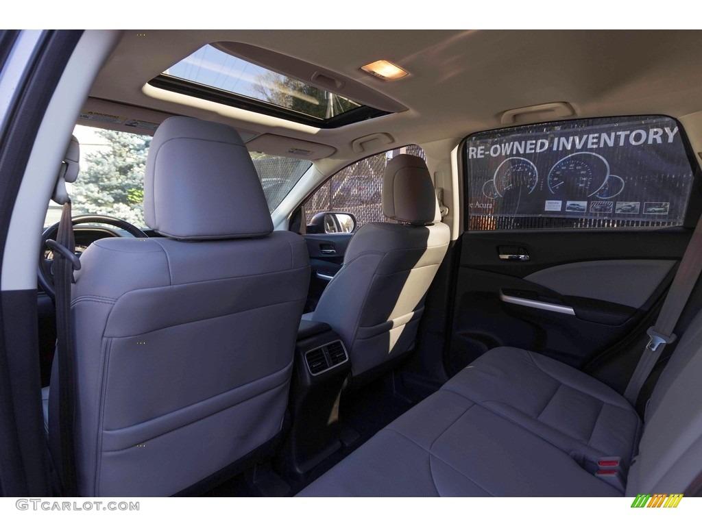 2015 CR-V Touring - Modern Steel Metallic / Gray photo #35