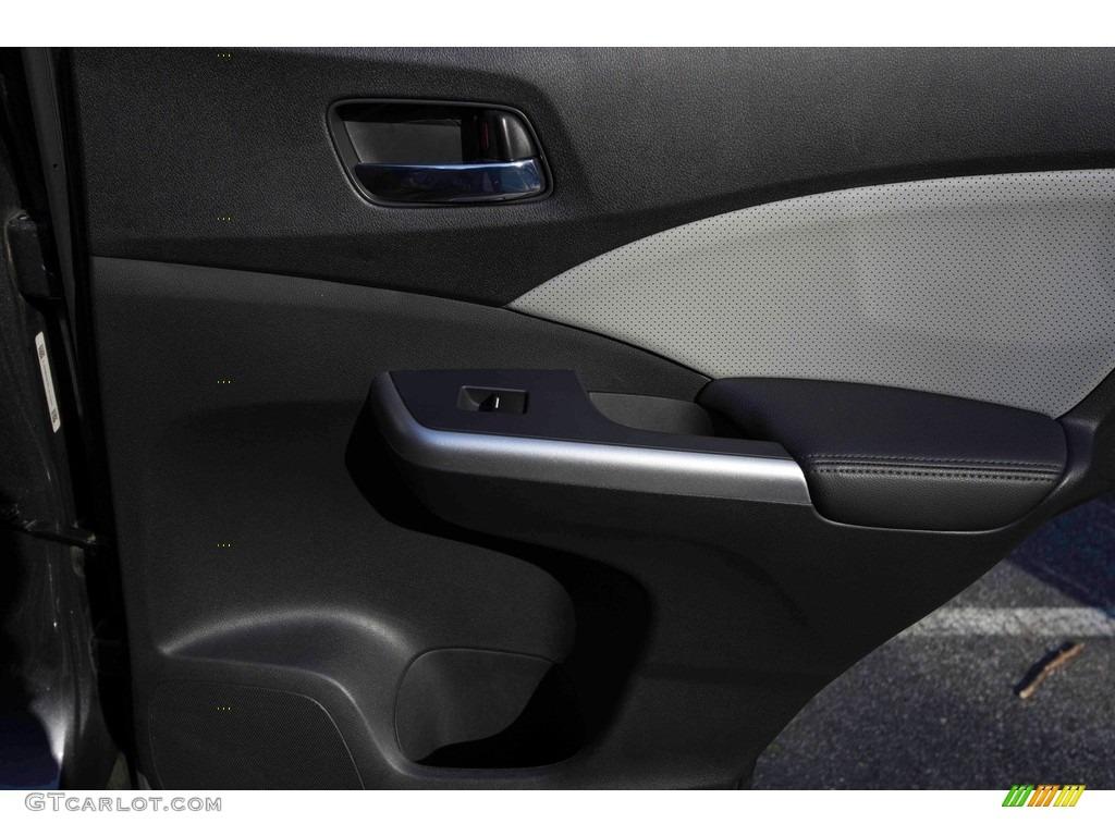 2015 CR-V Touring - Modern Steel Metallic / Gray photo #36