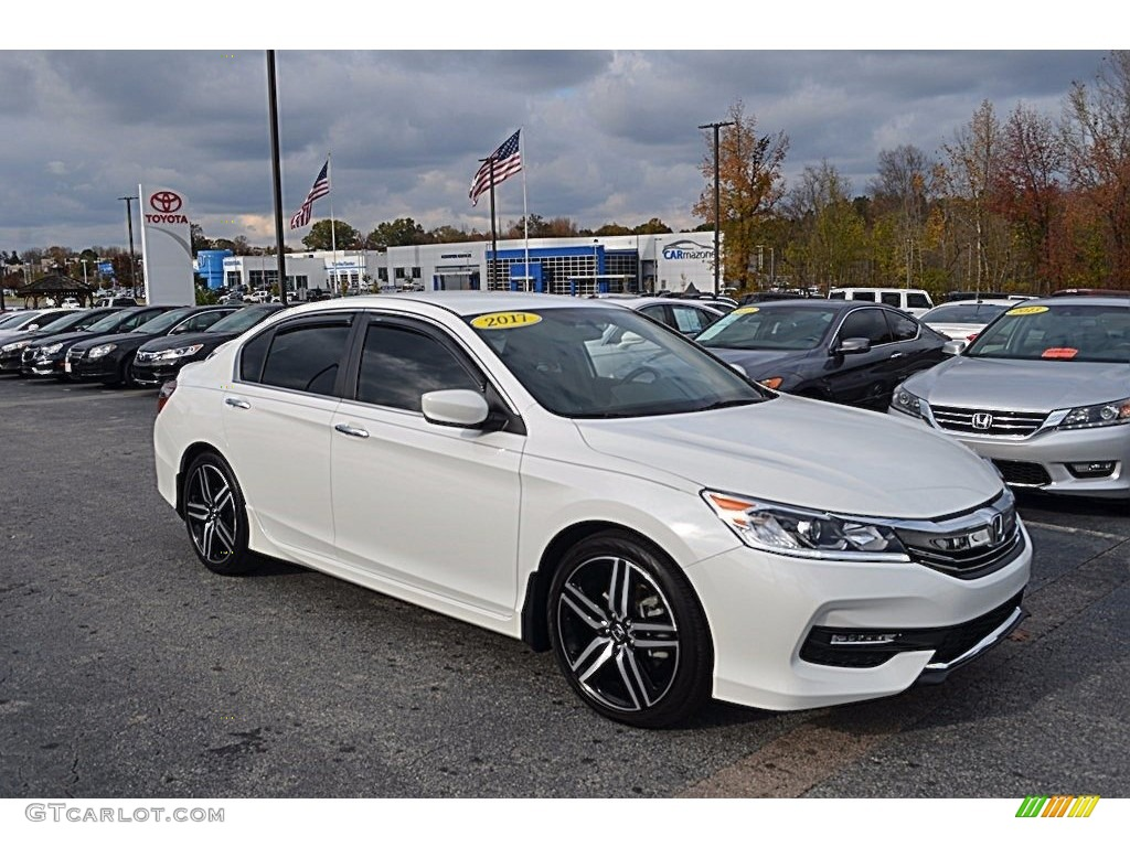2017 White Orchid Pearl Honda Accord Sport Sedan 123874849 Gtcarlot Com Car Color Galleries
