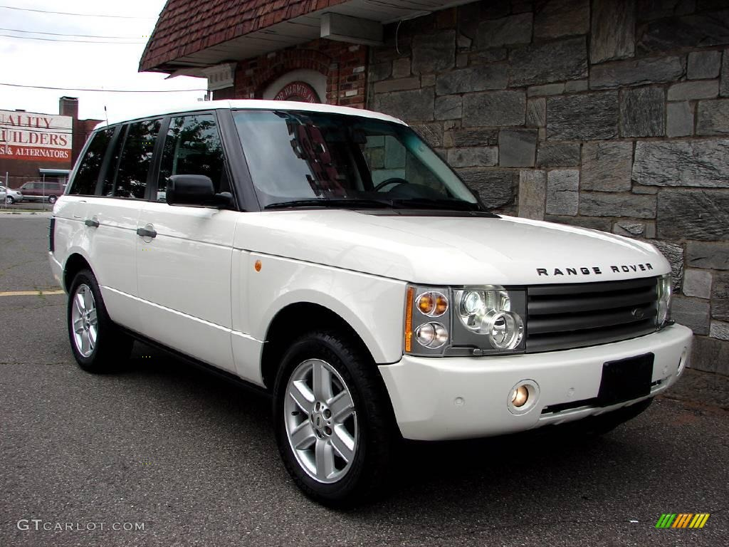 2004 chawton white land rover range rover hse 12342325. Black Bedroom Furniture Sets. Home Design Ideas