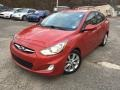 Boston Red 2013 Hyundai Accent GLS 4 Door