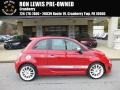 Rosso (Red) 2013 Fiat 500 Abarth