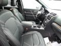 Ebony Black Interior Photo for 2018 Ford Explorer #123949000
