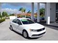 2016 Pure White Volkswagen Jetta S #123948056